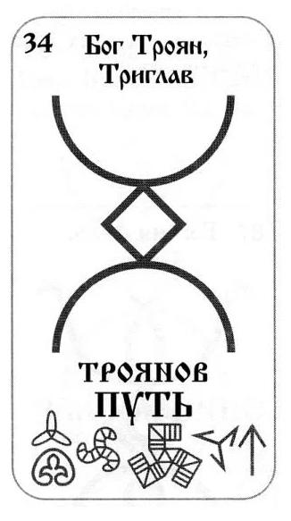 Знак Руна Троянов путь