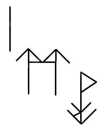 Знаки: Исток, Перун+Треба, Есть+Даждьбог+Берегиня