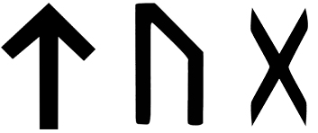 Знаки Тейваз-Уруз-Гебо