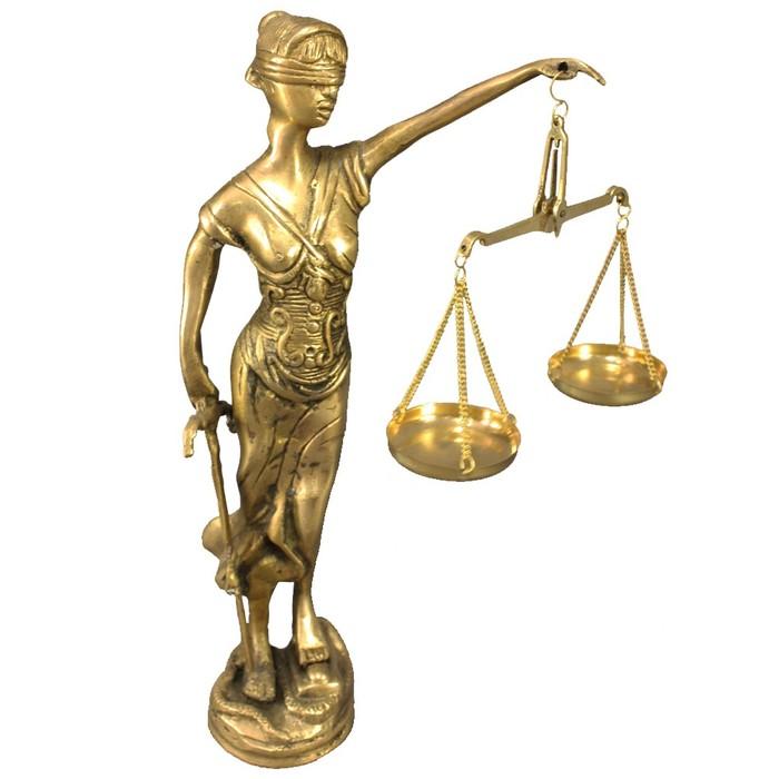 Фемида статуэтка